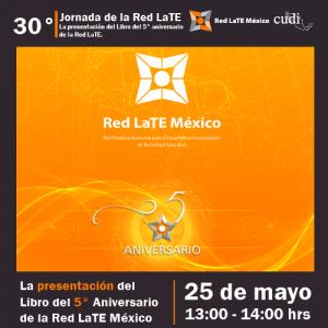 Presentación del libro del 5to. Aniversario de la RedLate México