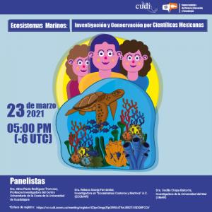 Ecosistemas Marinos: Investigación y Conservación por Científicas Mexicanas