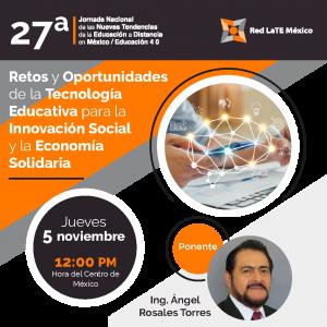 Retos y Oportunidades de la Tecnología Educativa para la Innovación Social y Economía Solidaria