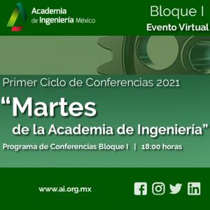 """Primer Ciclo de Conferencias 2021 de la Academia de Ingeniería: """"Martes de la Academia de Ingeniería"""""""