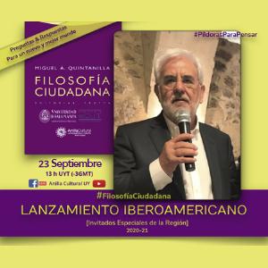 Filosofía Ciudadana: Lanzamiento Iberoamericano