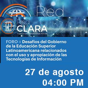 Desafíos del Gobierno de la Educación Superior Latinoamericana relacionados con el uso y apropiación de las Tecnologías de Información