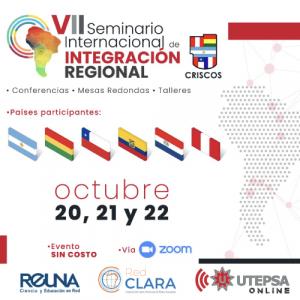 Seminario Internacional de Integración Regional CRISCOS