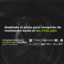 II Congreso Internacional Cine e Imagen Científicos