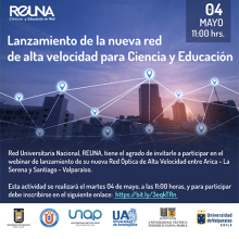REUNA inaugura nuevos tramos de su red de alta velocidad entre Arica y Valparaíso