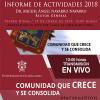 Rector de UdeG  presenta informe de Actividades 2018